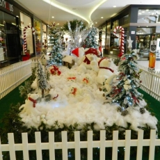 A magia do Natal invadiu o Center Shopping