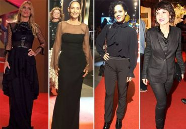 All Black no red carpet de Gramado