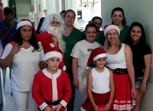 Alguns flashes do Natal maravilhoso para algumas das famílias