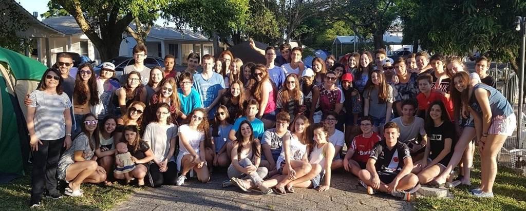 Colégio São Bento desfrutam do Parque Verde