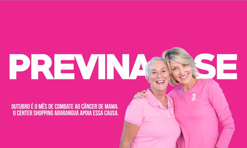 Com o apoio da Rede Feminina de Combate ao Câncer, diversas ações vão reforçar a importância da prevenção