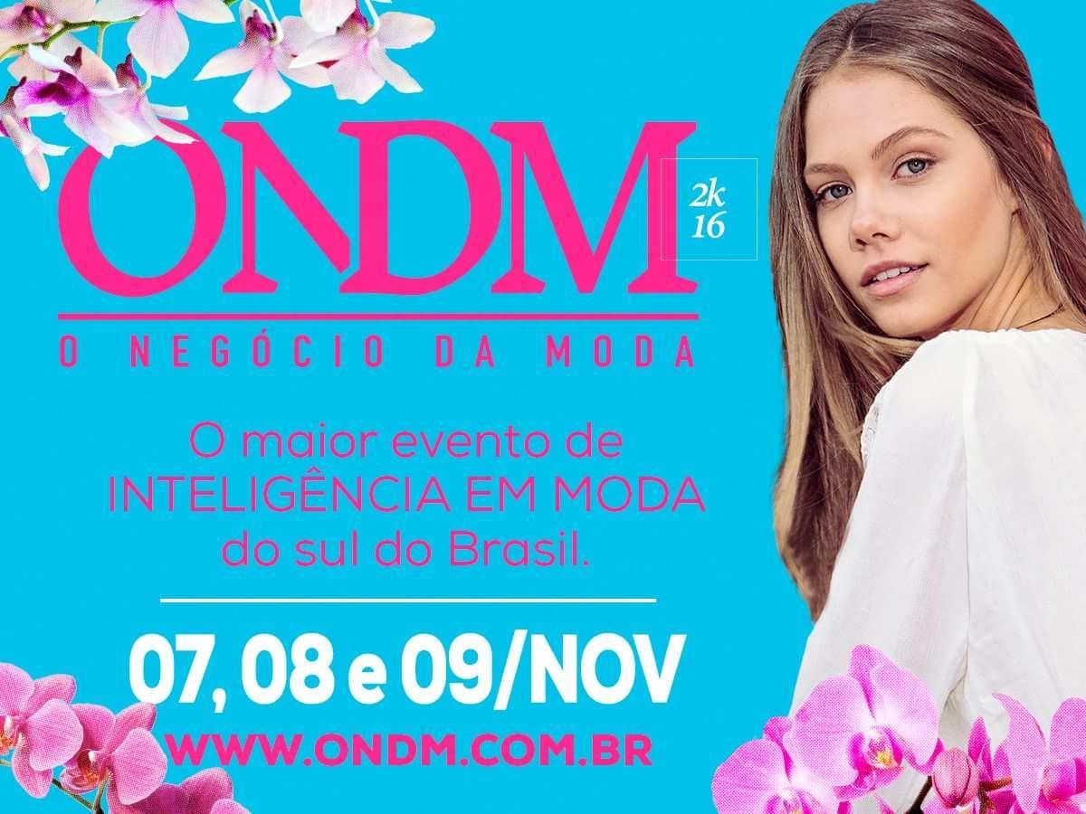 O Negócio da Moda acontece entre os dias 07 e 09 de novembro, em Balneário Camboriú