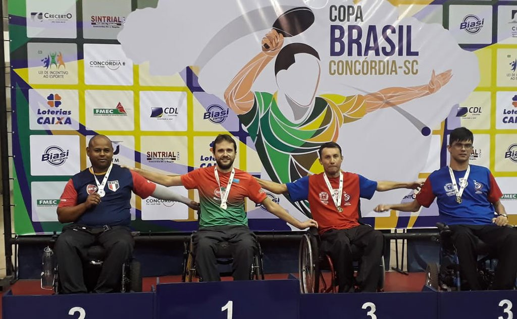 Conquistas na Copa Brasil Sul Sudeste de Tênis de Mesa