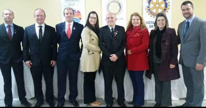 Alcino Fernando Neto assume como novo diretor presidente da Rotary Clube de Içara