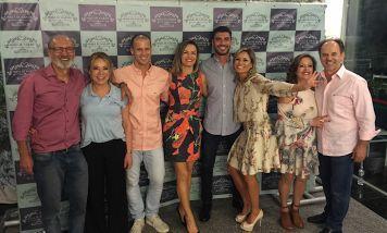 Show do Tiago Iorc, família unida, confraternização e palestra com Oscar Schmidt
