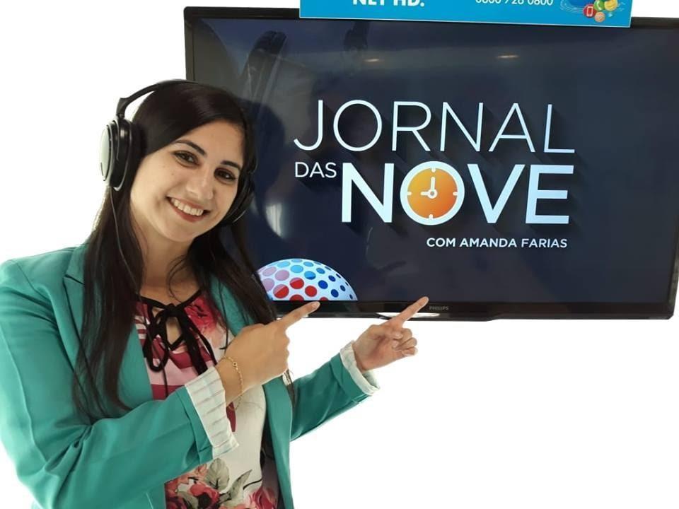 Amanda Farias nova integrante do Jornal das Nove na Rádio Som Maior