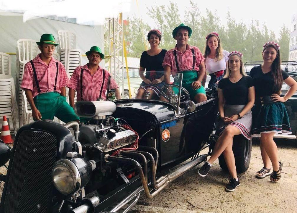 Oktober Fest Summer fez sucesso no Morro dos Conventos neste final de semana