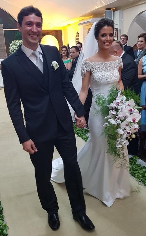 Flashes do casamento de Thiago e Marina