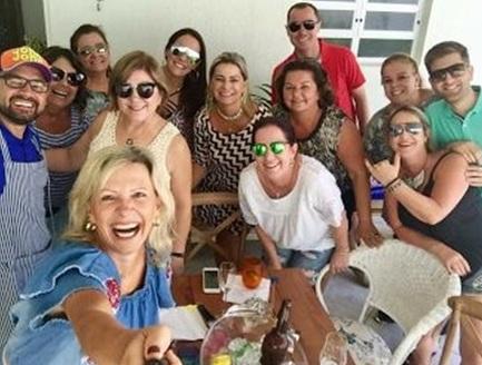 Reunião das Divas, encontro entre amigas no Turvo e mais