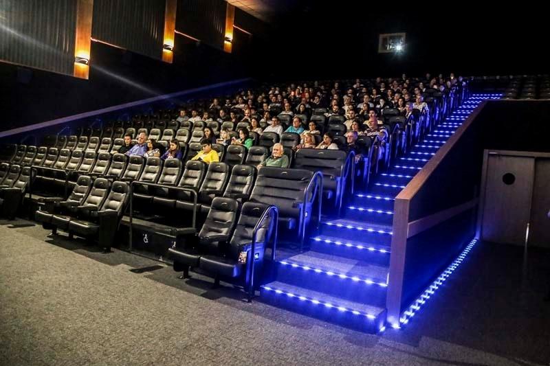 Cada vez mais completo, novidade no que há de mais moderno em cinema a nível mundial
