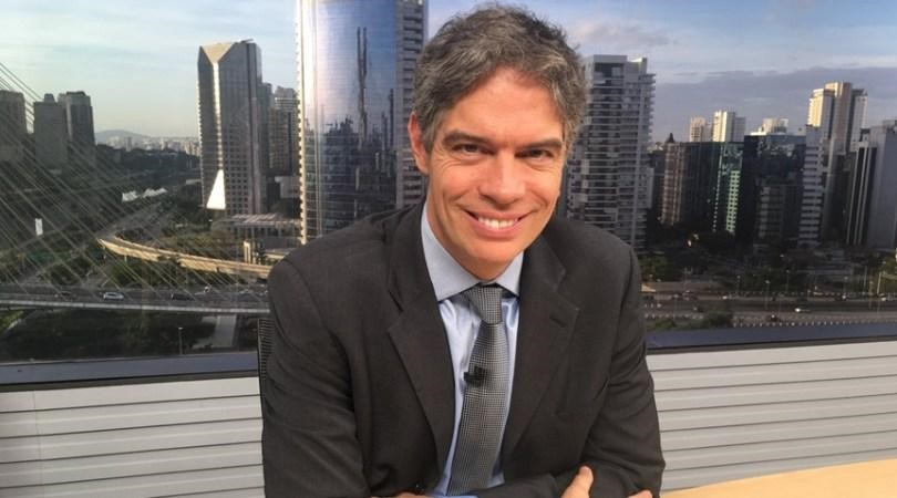 Ricardo Amorim do Programa Manhattan Connection da Globo News em Criciúma