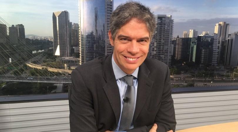 Ricardo Amorim do Programa Manhattan Connection da Globo News em Criciúma