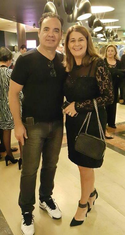 Roberto Klann e Dra. Eliza Strapazzon em tour na Argentina e sábado mais em Criciúma.