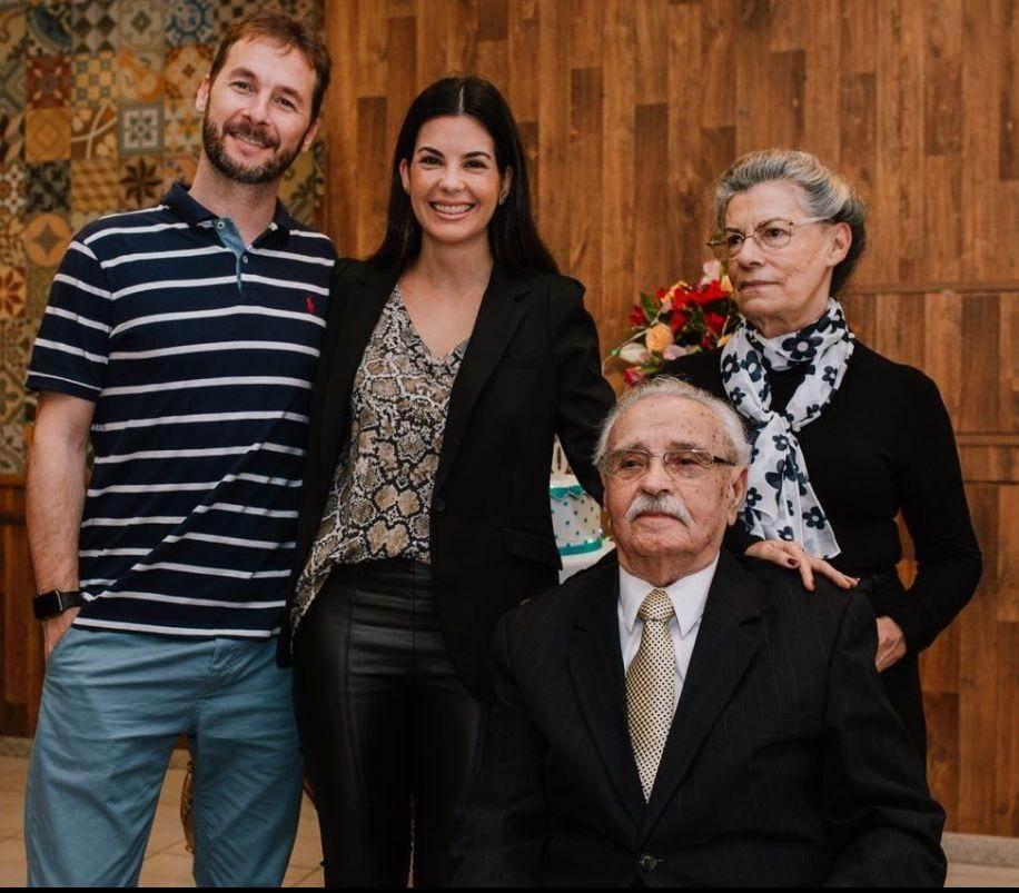 Sr. Francisco que nasceu em 1918 completa 100 anos de idade, que venha os 101!