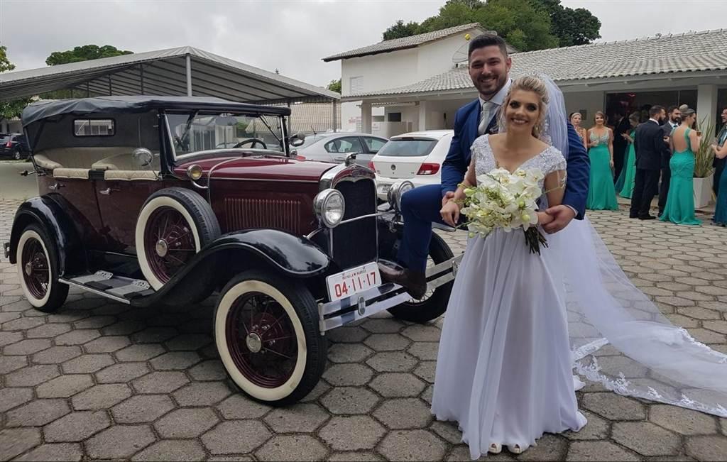 Casamento de Rafaela e Rodrigo no Aquático Parque Verde