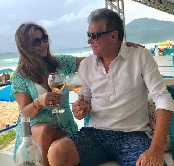 Irene e Flávio Serafim comemoram suas Bodas de Oliveira