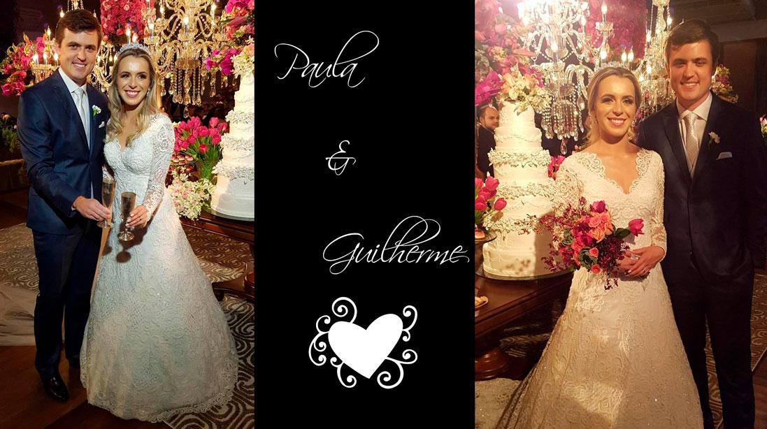 Casamento de Paula e Guilherme no S. R. Mampituba e festa no Siso's