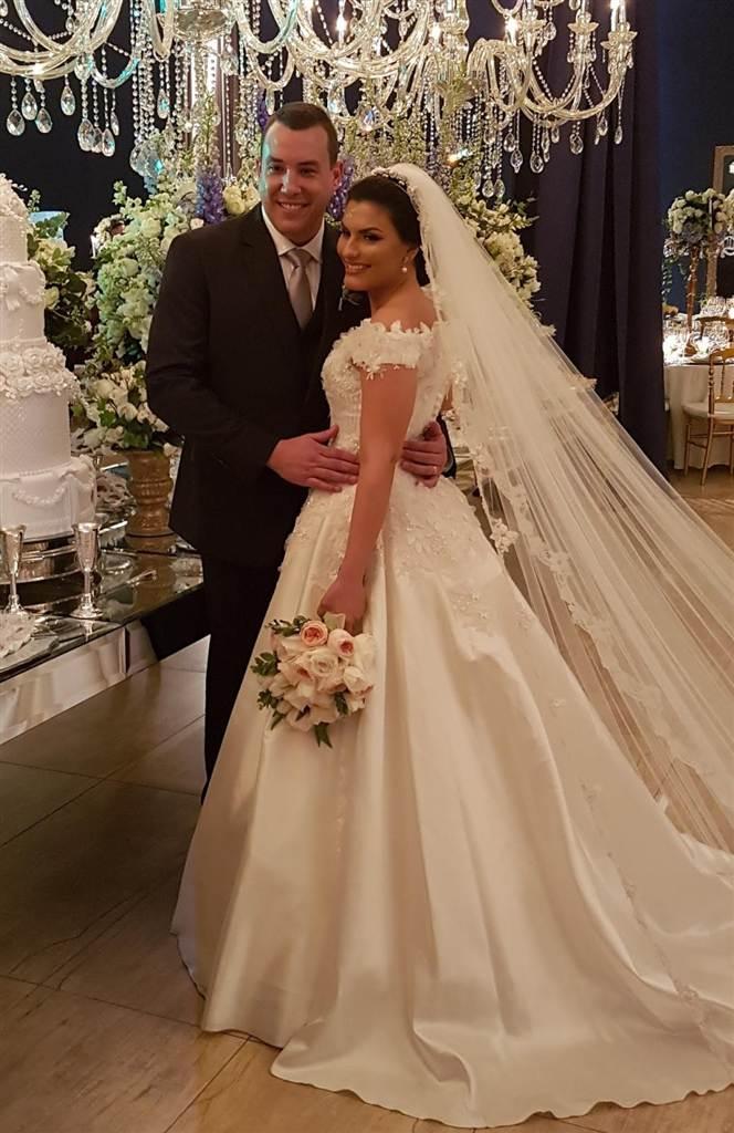 Grandes momento do casamento de Maria Cláudia e Rodrigo