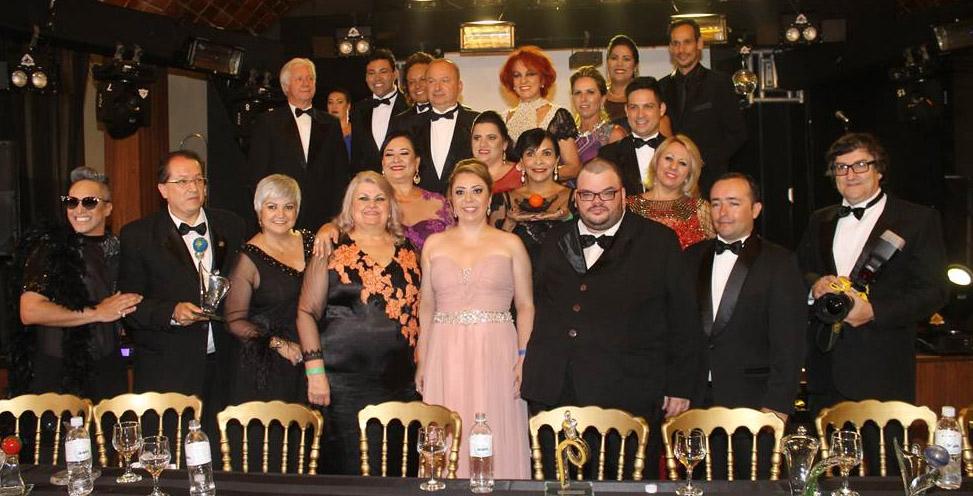 Jantar de natal com homenagens no Hotel Internacional Gravatal