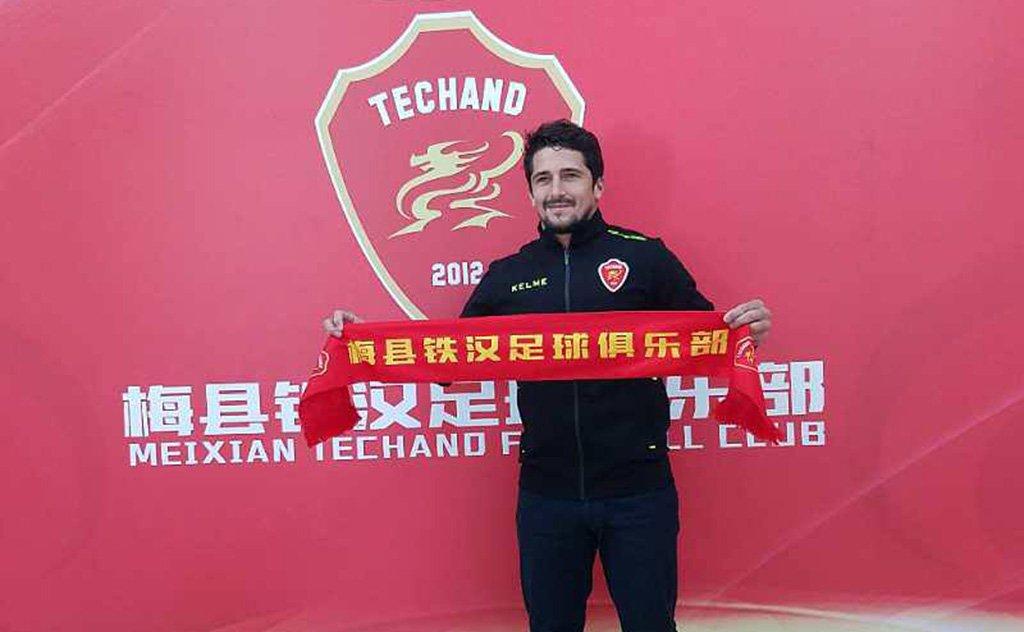 jogador araranguaense permanecerá na China por mais dois anos