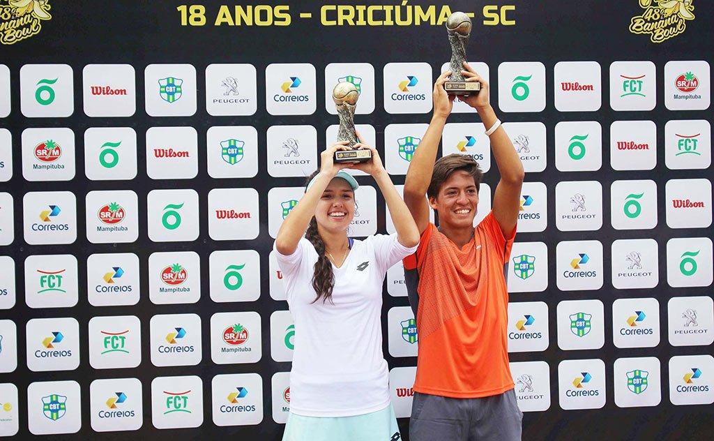 Maior torneio de tênis da América Latina movimentou o clube Mampituba