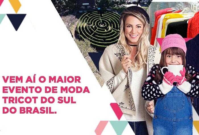 Maior feira de malha tricot do Sul do Brasil