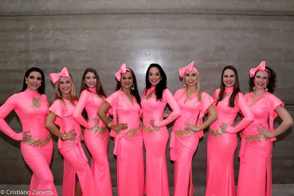 Dançarinas criciumenses levam primeiro lugar no Hathor, em Curitiba