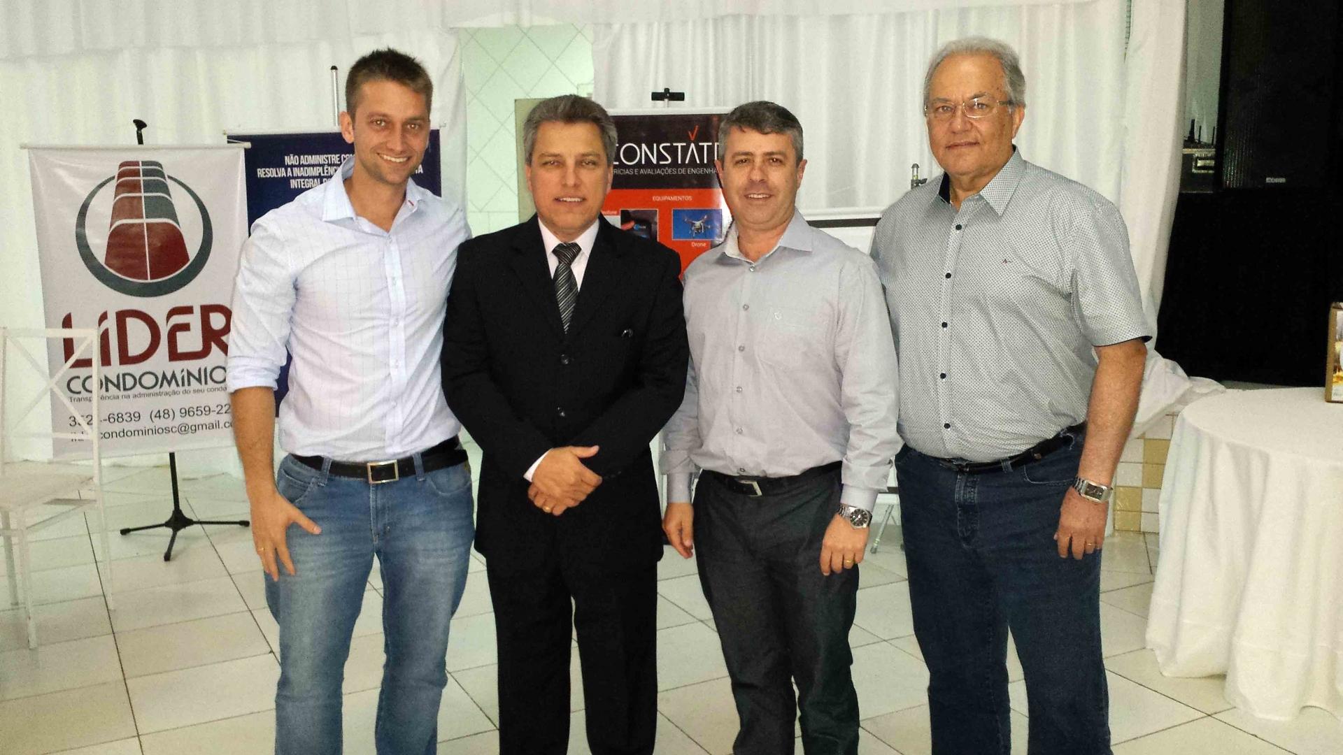 Evento foi promovido pelo Secovi Sul/SC, nesta quinta, em Criciúma