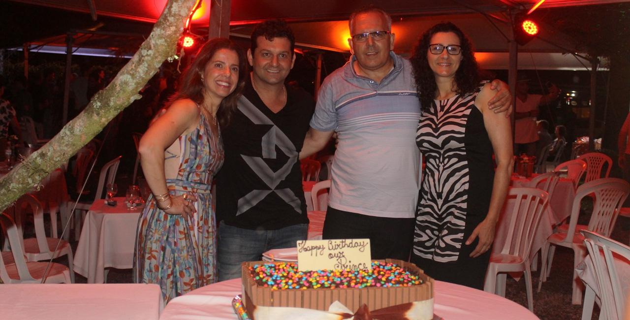 Com noite solidária em prol à Casa Guido, médico festeja entre amigos