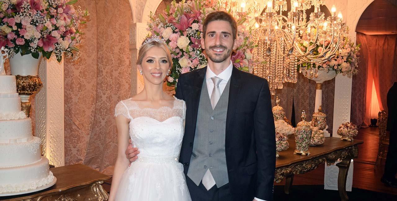 A elegante noite de matrimônio dos jovens engenheiros em Araranguá