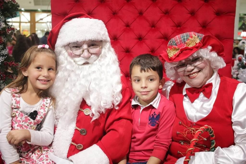 Papai Noel está para chegar no Criciúma Shopping que abrirá a temporada de fim de ano