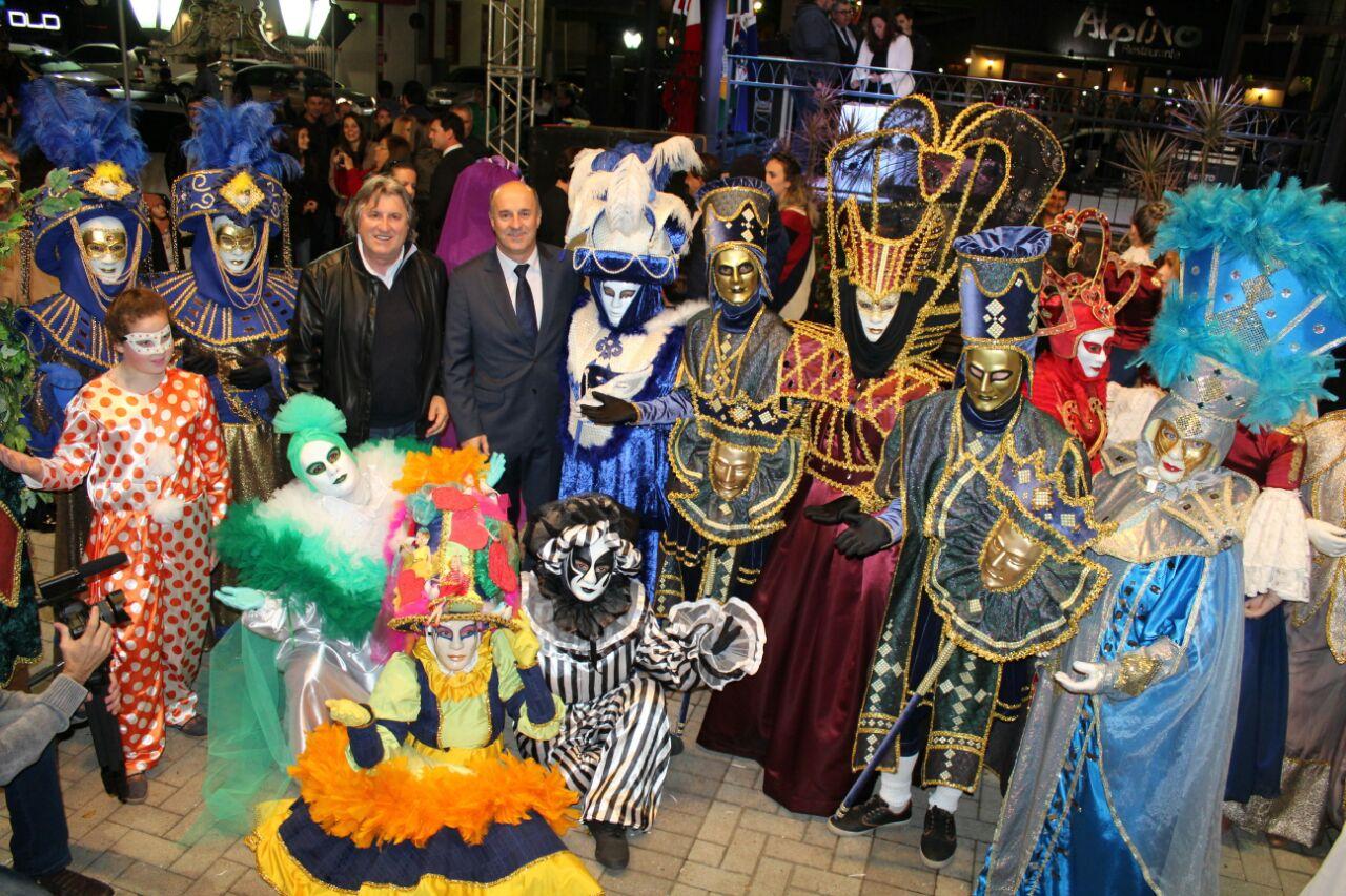 Abertura do festival gastronômico e cultural do Sul de Santa Catarina