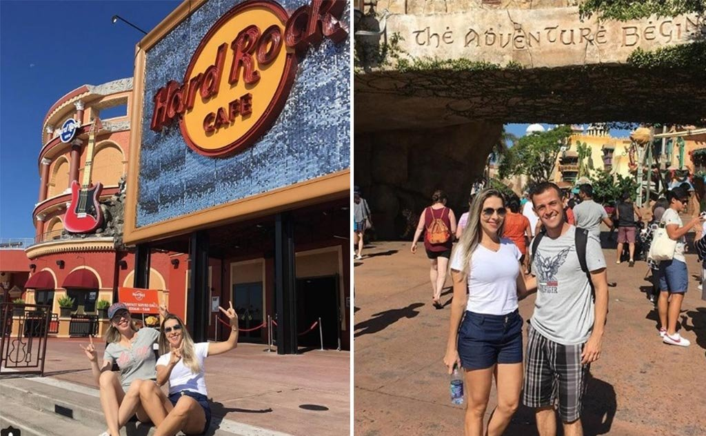 Muita diversão nas terras do tio sam, com parada especial no Disney World
