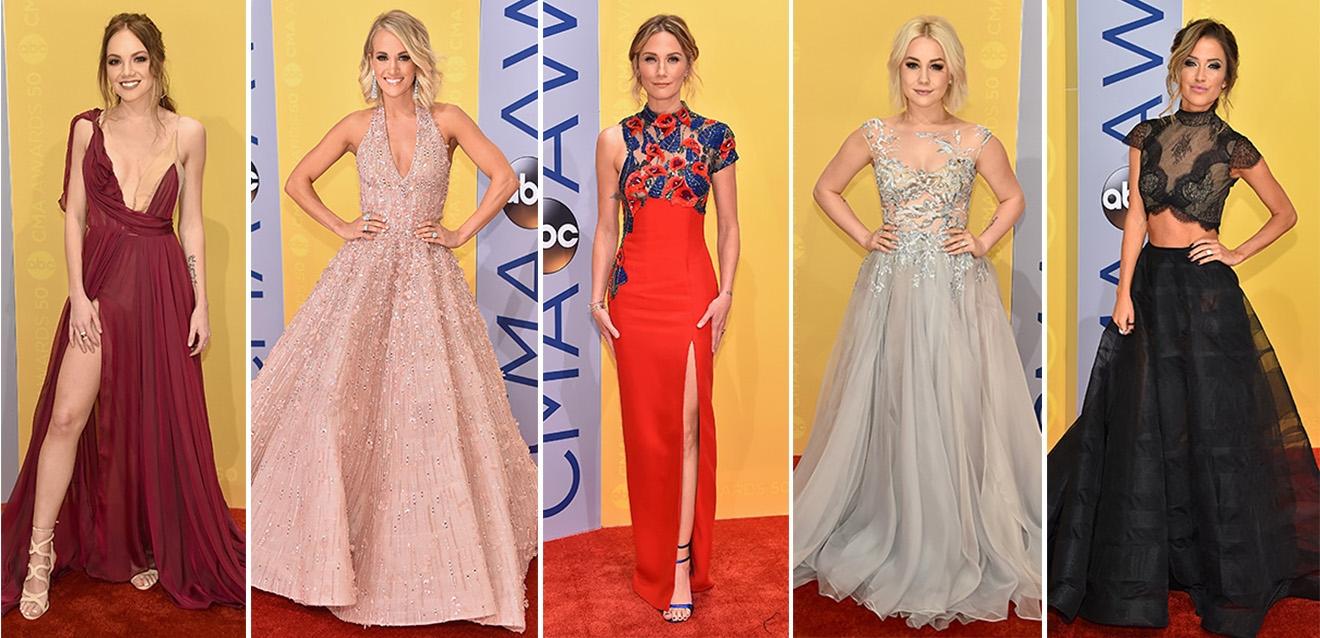 De beyonce à Carrie Underwood, Vestidos deslumbrantes que passaram pelo evento
