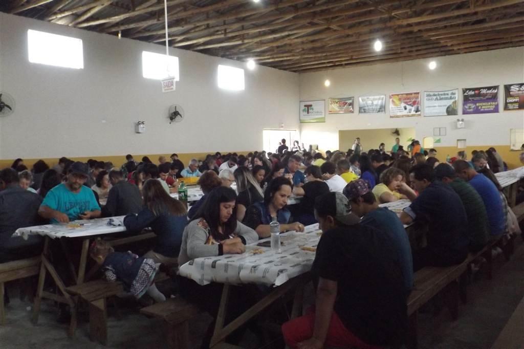 Os destaques do Bingo que ocorreu no Centro Comunitário da Igreja Católica