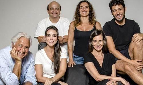 Peça Baixa Terapia estará no Teatro Elias Angeloni dia 26 de abril.