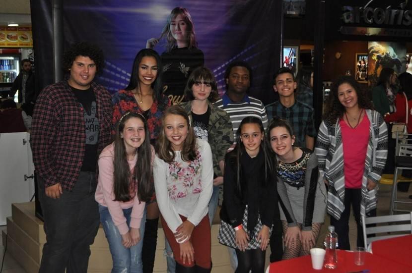 Os dez escolhidos para participar na semi-final Vozes de Talento