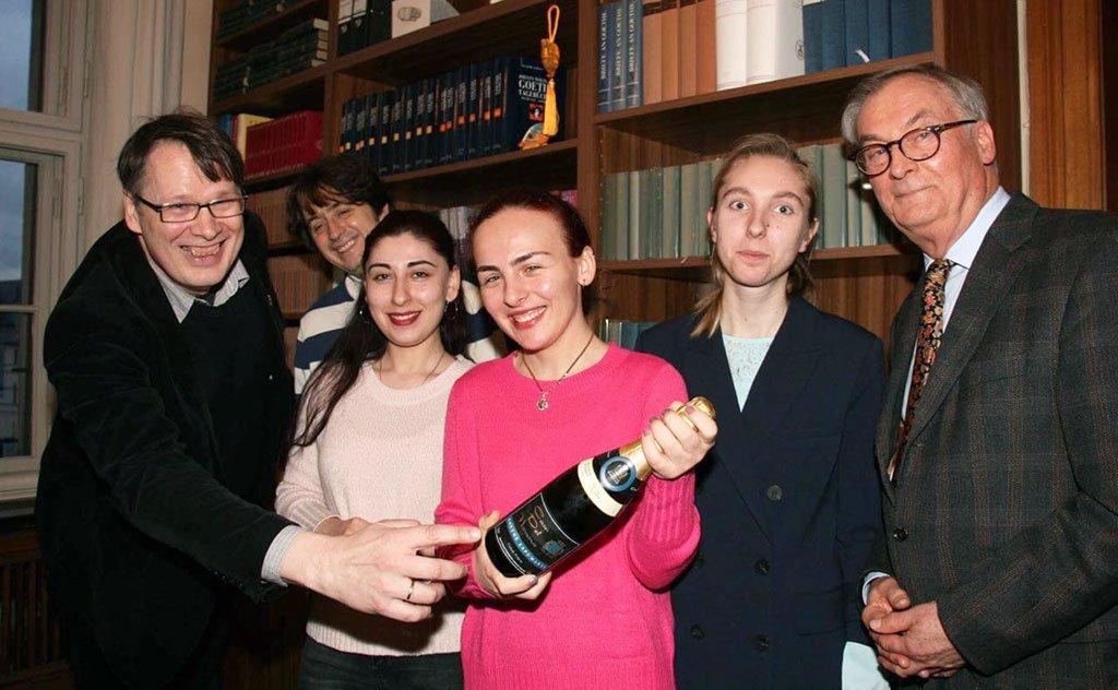 Bebida foi degustada pelos membros da sociedade literária na Alemanha