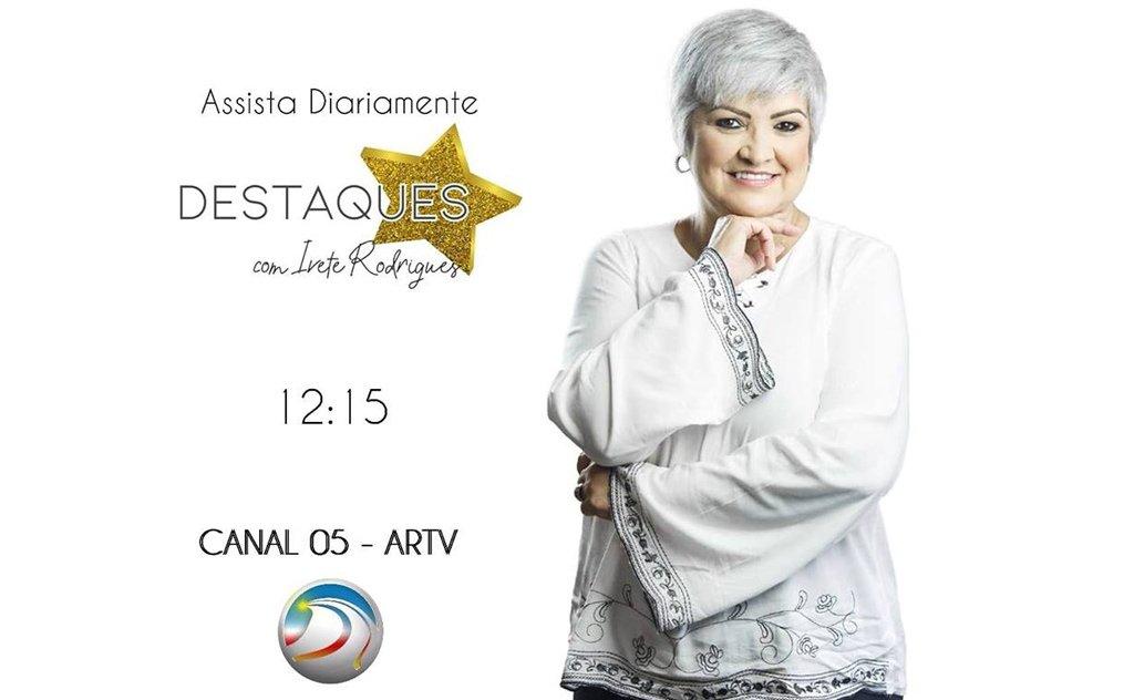 Gente em destaque na ARTV Canal 5 Araranguá
