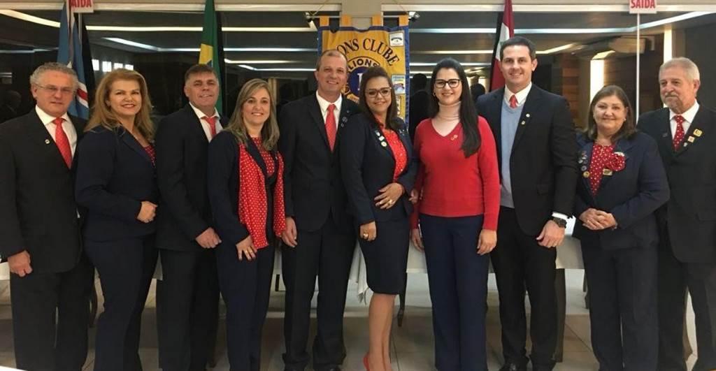 Clube Lions de Içara tem nova posse de diretoria para 2018/2019