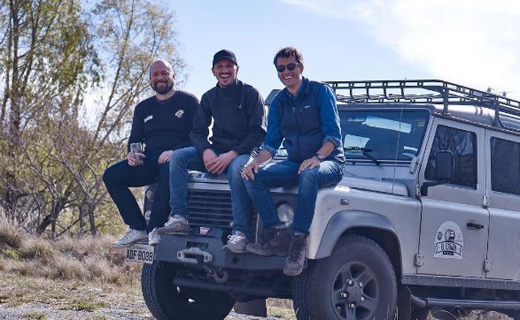 Richard Brighentti e Rubens Angelotti dão continuidade à road trip El Barril