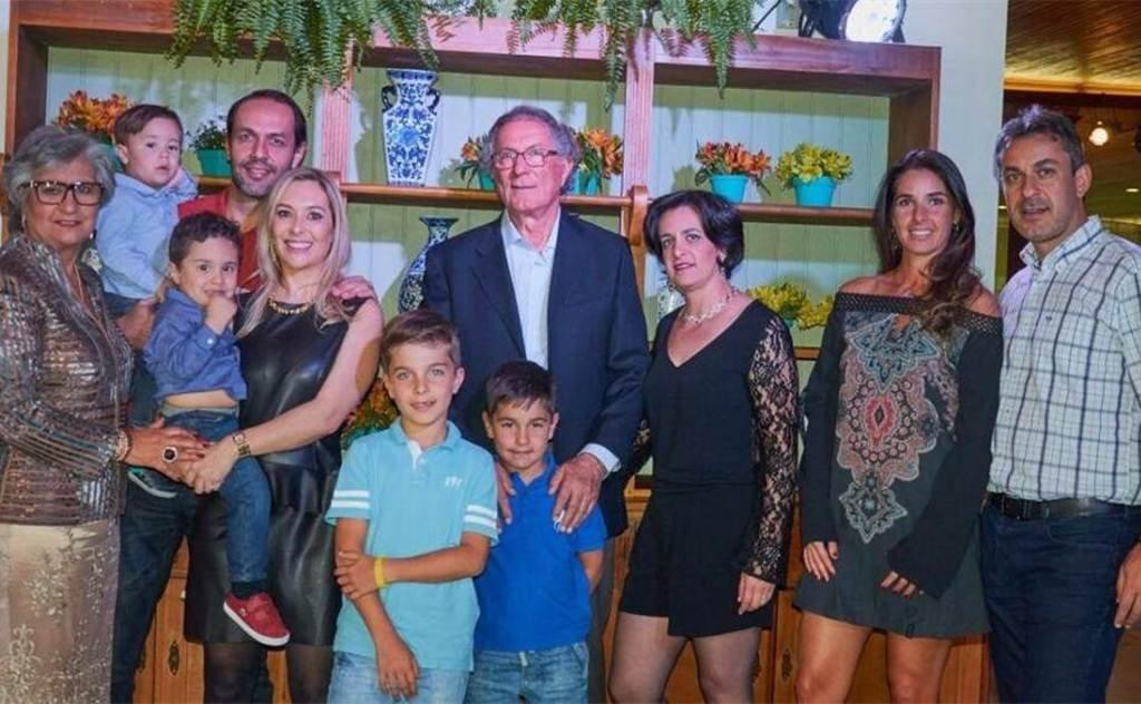 Valdo Zanette comemora seus 75 anos com toda família em Nova Veneza