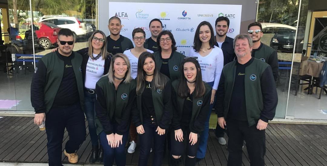 Alfa Comunicação e Shopping de Ideias comemora parceria douradora
