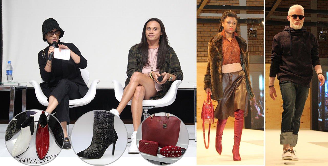 Um mix de mais uma edição da feira inovadora de calçados e acessórios
