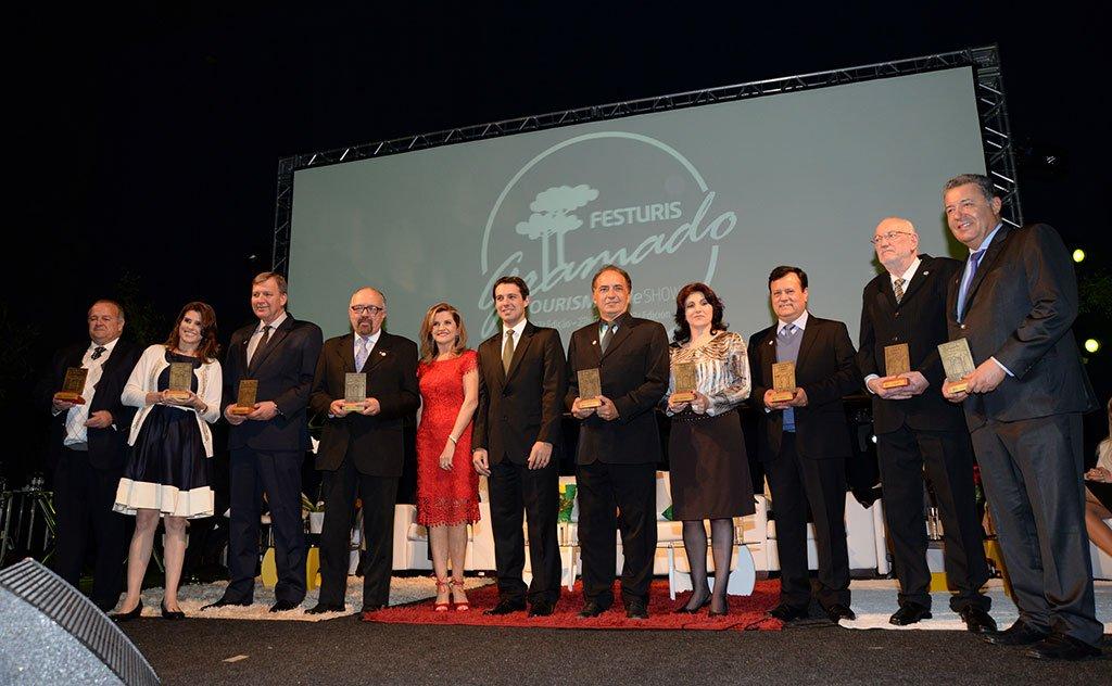 Apoio e a parceria de profissionais ligados ao turismo que impulsionaram o evento