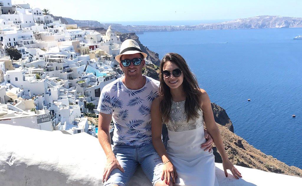 Destinos como Holanda, Grécia e Jordânia são escolhidos pelo casal