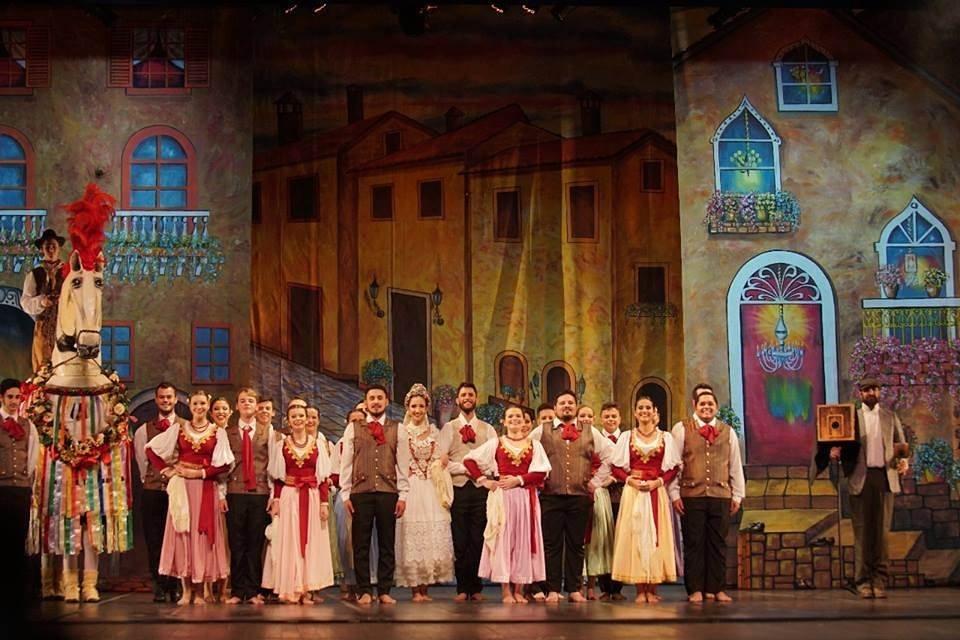 Ítalo Brasileiro de Nova Veneza conquista segundo lugar em Festival de Dança