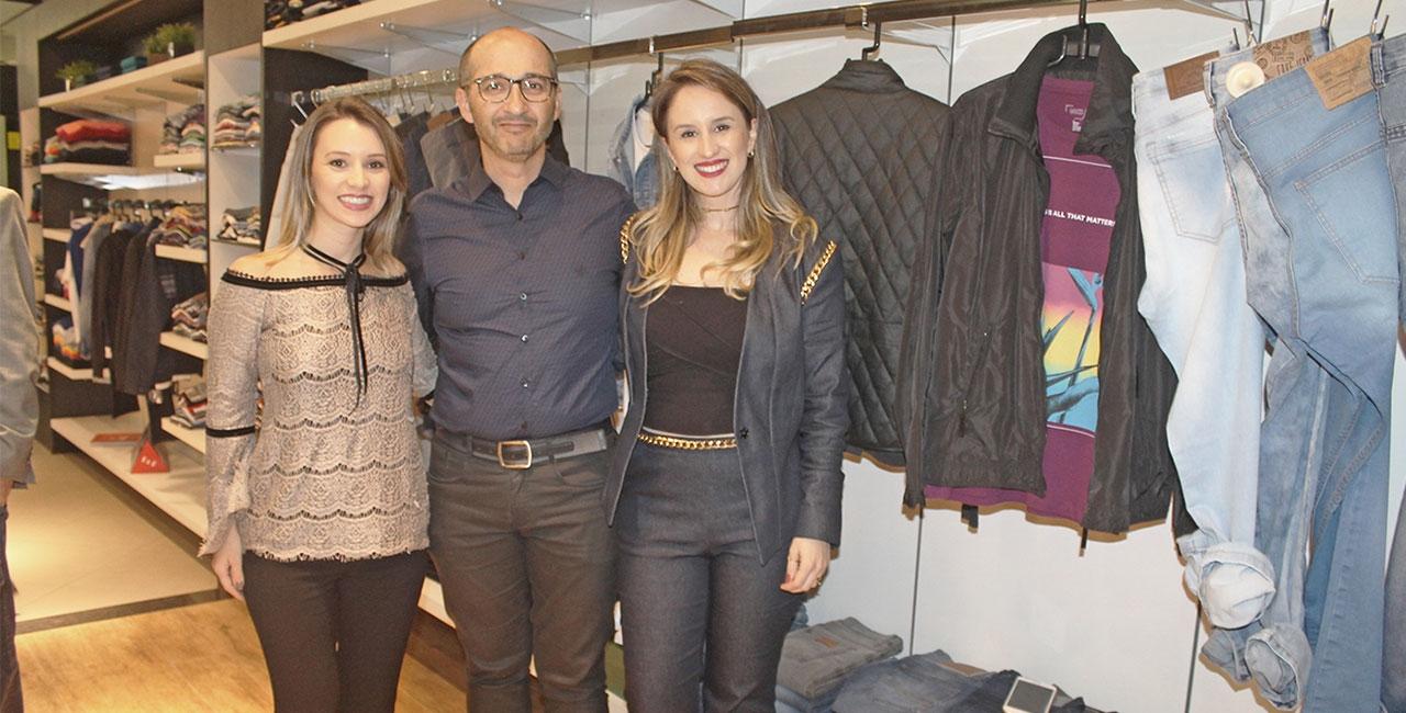 Juliana e Camila Fernandes reúnem novidades do mundo fashion masculino