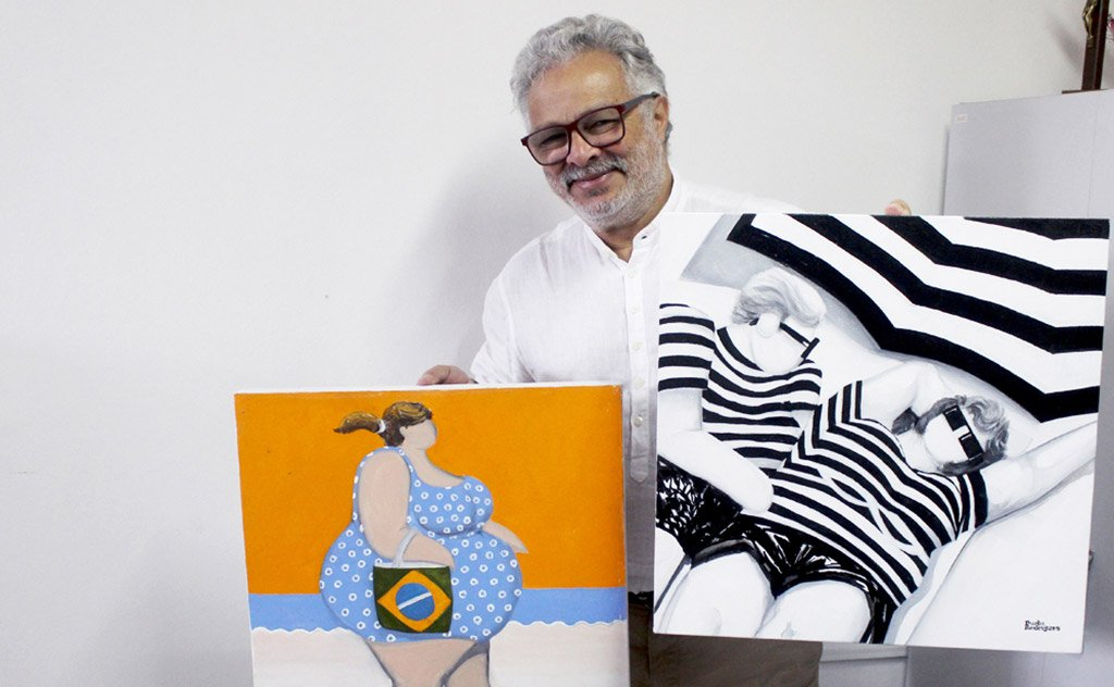 Criciumense expõe seus trabalhos na 1ª Mostra Internacional de Arte em Teresina