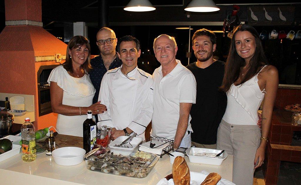 Fabiano da Cunha Miguel reproduz menu premiado em noite gastronômica